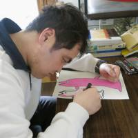 Disabled artists carving out niche in Japan