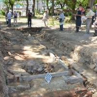 Archaeologists identify the foundations of the Bando POW camp in Naruto, Tokushima Prefecture, where German and Austrian soldiers were held during the war. Japan's role in WWI is seldom discussed, but the choices made at that time would reverberate later.   KYODO