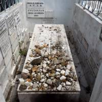 The tomb of Rabbi Shalom Imanuel Muyal stands in the St. John the Baptist Cemetery in Manaus, Brazil. | AP