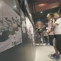 The June 4th Museum offers images that are largely unknown inside China, such as the celebrated photograph of 'Tank Man,' the lone protester who defied a column of tanks. | AP