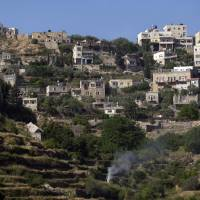 The terraced West Bank Palestinian village of Battir has been listed as a World Heritage site in danger. Battir is known for its ancient farming terraces and an irrigation system from Roman times. | AP