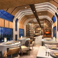 JR East's 10-car luxury train will feature a dinning car. | JR EAST