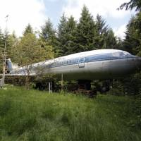 The Boeing 727 — located outside Portland, Oregon — is a job to scrub down, and taming the vegetation is a similar challenge for owner Bruce Campbell. | REUTERS