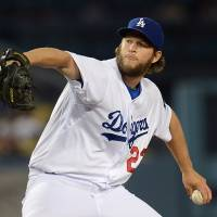 The Los Angeles Dodgers' Clayton Kershaw pitches his first career no-hitter.