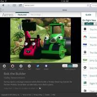 This file image provided by Aereo shows a streaming broadcast of 'Bob the Builder' on the New York PBS station, WNET 13. | AP
