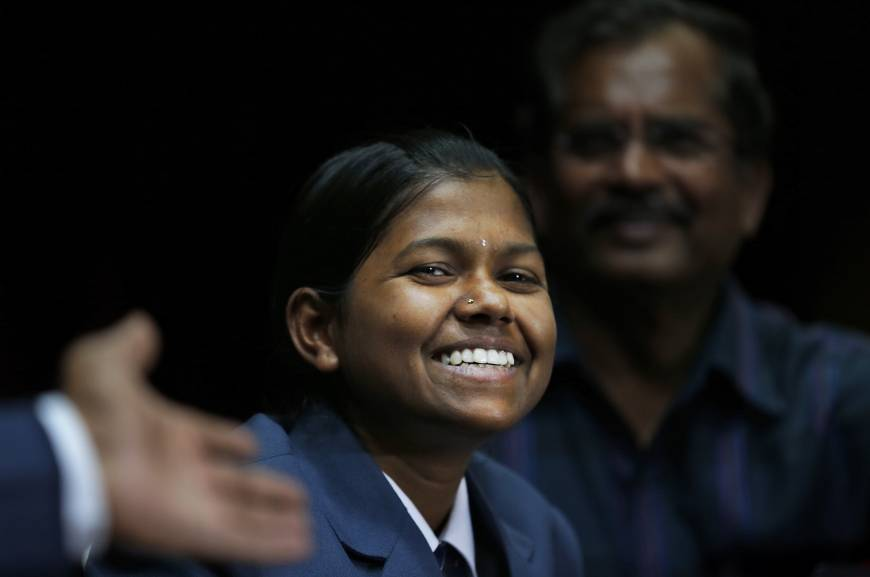 At 13, Indian Dalit teen becomes youngest girl to peak Mount Everest
