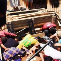 U.S. condemns 'horrifying' Iraq massacre by ISIS militants