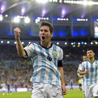 Messi has strong finish to help lift Argentina