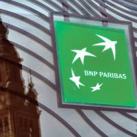 U.S. regulators next week plan to announce a $9 billion settlement with BNP Paribas to settle charges the French bank violated American sanctions on deals with blacklisted countries. | AFP-JIJI