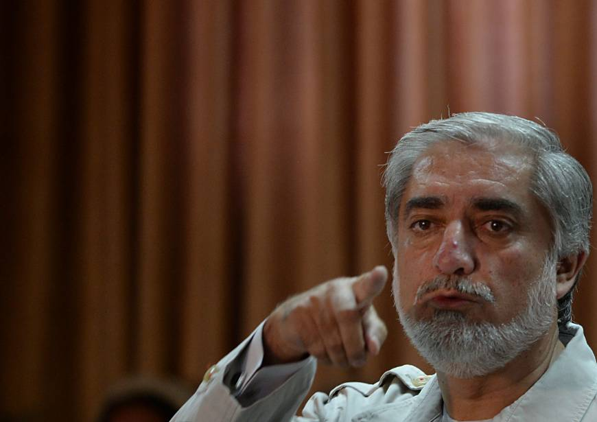 Abdullah threatens to reject Afghan election result