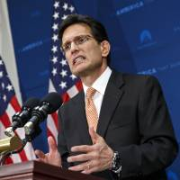 U.S. House Republican No. 2 Cantor to step down after election shock