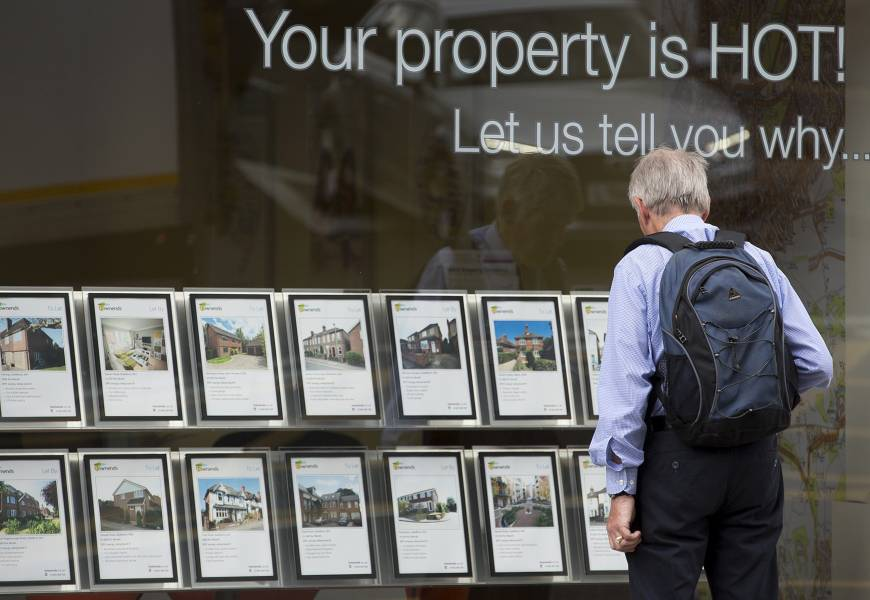 Threat of housing bubble tempts Britain to act