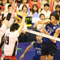 Argentina spikers triumph against Japan for second straight day