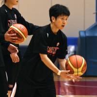 Serious issue: Japan national team guard Yuko Oga says that if FIBA suspends the Japan Basketball Association for failing to solve the NBL/bj-league impasse it would have a huge negative impact for the sport in Japan. KAZ NAGATSUKA