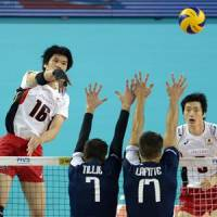 Japan spikers striving for better results at home