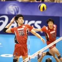 Japan volleyball squad wraps up World League campaign with first victory