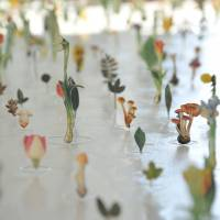 A close-up photograph of 'Garden of the Appellation 2014' by Eiji Watanabe | THE HAKONE OPEN-AIR MUSEUM