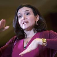 Facebook Chief Operating Officer Sheryl Sandberg, shown giving a speech at the Indian Chambers of Commerce in New Delhi on Wednesday, has admitted that the company had failed to adequately inform its users about a mood survey. | BLOOMBERG