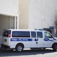 An Israeli prison service vehicle leaves the court house in Petah Tikva, Israel, Sunday. Israeli authorities on Sunday announced the arrests of several Jewish suspects in the death of Muhammed Abu Khudair, 16, a Palestinian teenager who was abducted and killed last week, marking a major breakthrough in a case that has sparked violent protests in Arab areas of Jerusalem and northern Israel. In a joint statement, Israeli police and the Shin Bet security agency said the suspects were arrested early Sunday. They remained in custody and were being interrogated by the Shin Bet. | AP