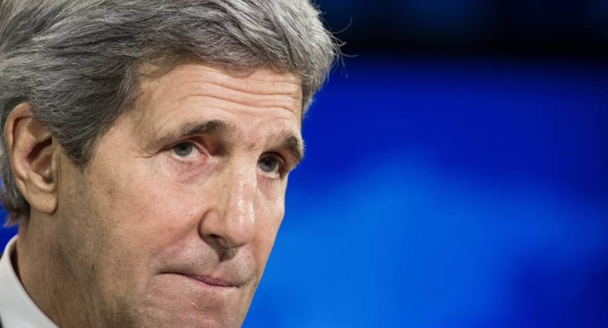 Kerry says he's not worried by criticism in Israel