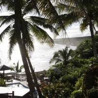 The Matavai resort in Tamakautoga, Niue. Some Niueans are hopeful that increasing tourism can halt the population decline.   AP