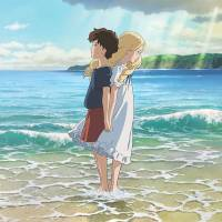 A fantasy friendship: Unhappy 12-year-old orphan Anna (voiced by Sara Takatsuki) and a blond-haired girl called Marnie (Kasumi Arimura) are the two heroines in Ghibli's newest film, 'Omoide no Marnie' ('When Marnie Was There').