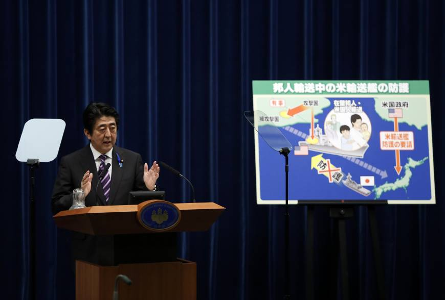 How Japan might use its military in the future