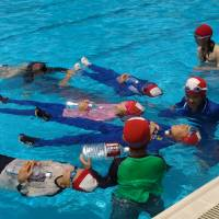 Technique to prevent drowning catches on