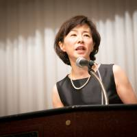 Kaori Sasaki, founder and CEO of ewoman Inc. and Unicul International Inc., launched the International Conference for Women in Business in 1996. She said women have to think outside the box to change Japan's male-dominated system. | COMMITTEE FOR THE INTERNATIONAL CONFERENCE FOR WOMEN IN BUSINESS