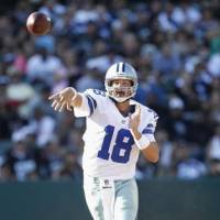 End of the line: QB Kyle Orton, who was released by the Dallas Cowboys on Wednesday, is expected to retire after playing nine seasons in the NFL. | AP
