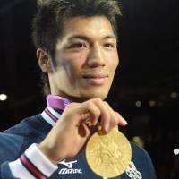 Gold standard: Ryota Murata won the middleweight gold medal at the 2012 London Games, becoming the first Japanese boxer to win an Olympic gold in 48 years. | KYODO