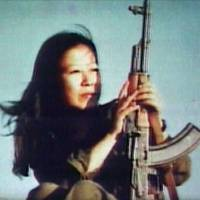 Red Army revolutionary Fusako Shigenobu, shown here in her former years, is currently in Hachioji Medical Prison serving out a 20-year sentence on terrorism offenses.     ©Transmission Films 2011