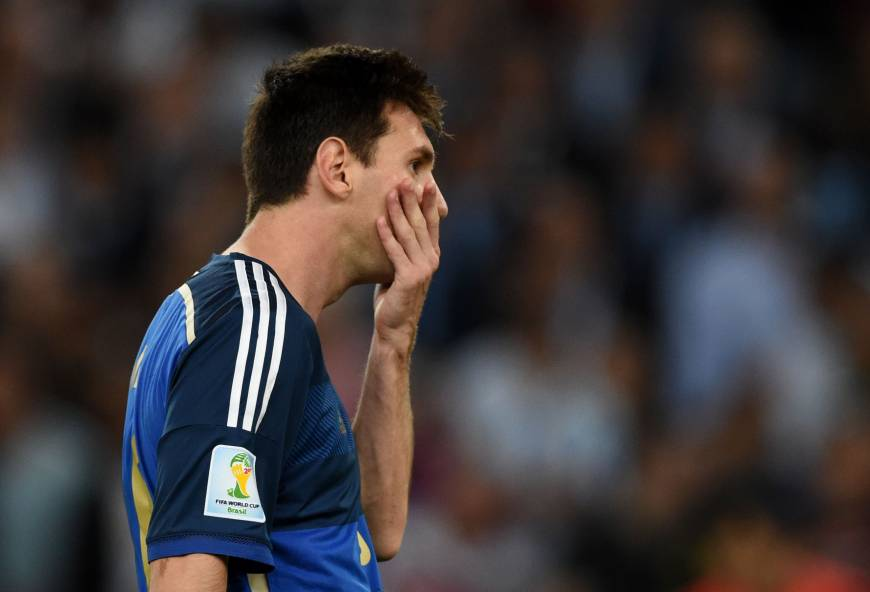 Tournament finishes on sour note for Messi
