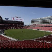 Magnificent: The San Francisco 49ers officially opened Levi's Stadium on Thursday. The five-time Super Bowl champions will play this season at the venue after 43 seasons at Candlestick Park. | AP