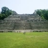 Ancient ruins : Caracol, a once powerful Maya city state, features a 40-meter-tall pyramid that remains the tallest man-made structure in Belize. | AP