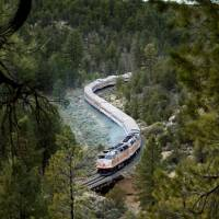 Wild ride: The Grand Canyon Railway runs daily between Williams, Arizona, and  the Grand Canyon's South Rim. | AP