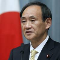 The murky call on a hardball interview with Chief Cabinet Secretary Suga
