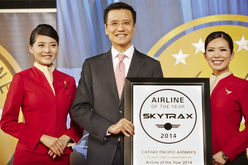 Cathay grabs record win; easier connections; Air India joins alliance