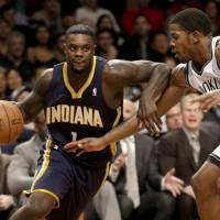Moving on: Shooting guard Lance Stephenson is joining the Charlotte Hornets after four seasons with the Indiana Pacers. | AP