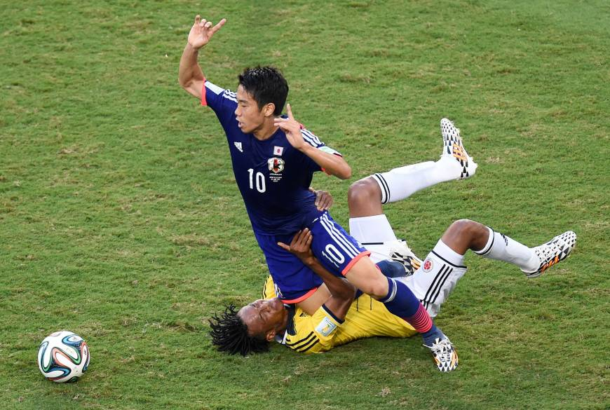 FIFA committee says Japan undone by low confidence, stamina in Brazil