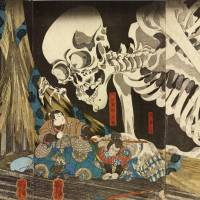 When it came to horror, ukiyo-e artists kept their wits about them