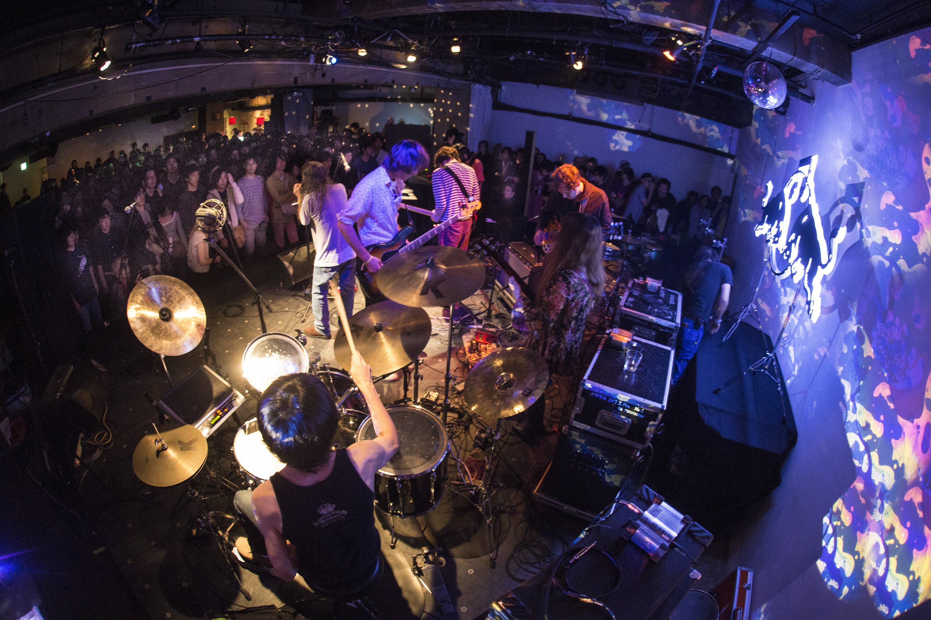 Musical showcase: Damo Suzuki performs during the Red Bull Music Academy Weekender in Tokyo on Nov. 2. The academy will host a series of events in the capital from Oct. 12 to Nov. 14.   PERE MASRAMON/RED BULL CONTENT POOL