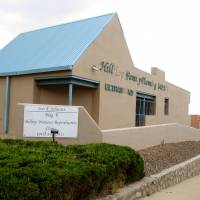 The Hilltop Women's Reproductive Clinic is seen in El Paso, Texas, on Aug. 11. A federal judge Friday threw out new Texas abortion restrictions that would have effectively closed more than a dozen clinics in the state.   AP