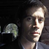 Journalist James Foley poses for a photo during a May 2011 interview in Boston. A video by militants from the Islamic State group that purports to show Foley's execution was released Tuesday. Foley, from Rochester, New Hampshire, went missing in 2012 in northern Syria while on assignment for Agence France-Press and the Boston-based media company GlobalPost. | AP