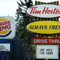Burger King buying Tim Hortons for about $11 billion