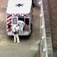 U.S. doctor infected with Ebola arrives in Atlanta for treatment