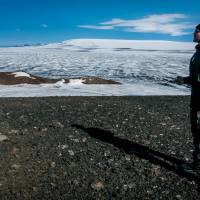 With no sign of eruption, Iceland lowers volcano warning