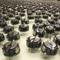 The Kilobots are a swarm of simple but collaborative robots. | REUTERS