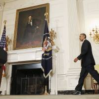 Obama authorizes renewed airstrikes in Iraq as U.S. drops aid to trapped refugees