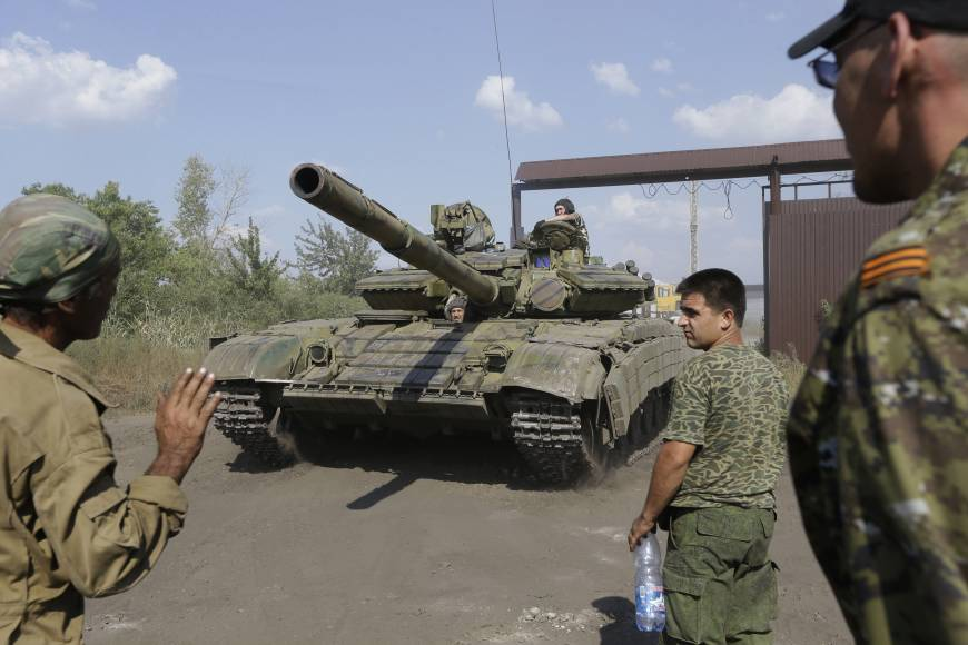 Ukraine rebels gearing up for eastern counterstrike